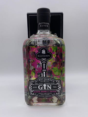 Raisthorpe Manor - Secret Garden Blissful Bramble & Saffron Gin 70cl