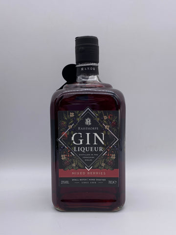 Raisthorpe Manor - Mixed Berries Gin Liqueur 70cl