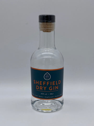 True North Brew Co - Sheffield Dry Gin 20cl