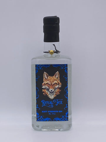 Royal Fox (Harrison Distillery) - Navy Strength 70cl