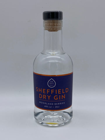 True North Brew Co - Sheffield Dry Gin Moorland Berries 20cl