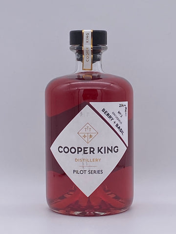 Cooper King - Berry & Basil Gin Liqueur 70cl SPECIAL OFFER