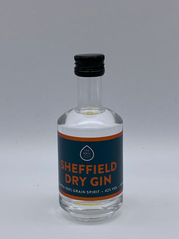 True North Brew Co - Sheffield Dry Gin 5cl