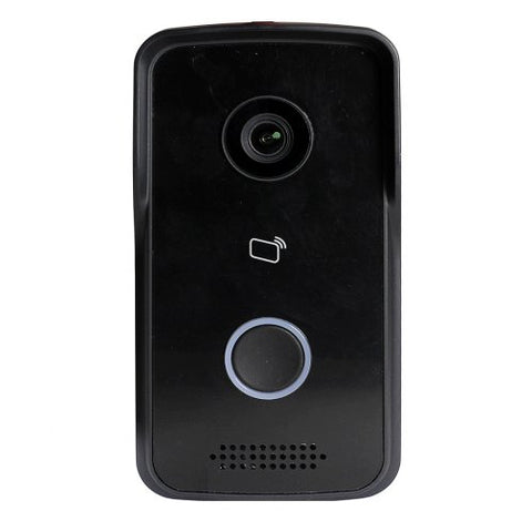 1MP Elite WiFi IP Black Video Door Bell Camera