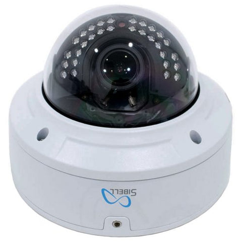5MP Sibell IP IR Varifocal Vandal Dome Camera w/ 2 Way Audio