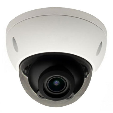 8MP/4K Elite Motorized IP Network Vandal Dome Camera with IR