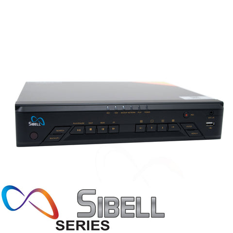 16 Channel 4K Mini 1U Sibell NVR