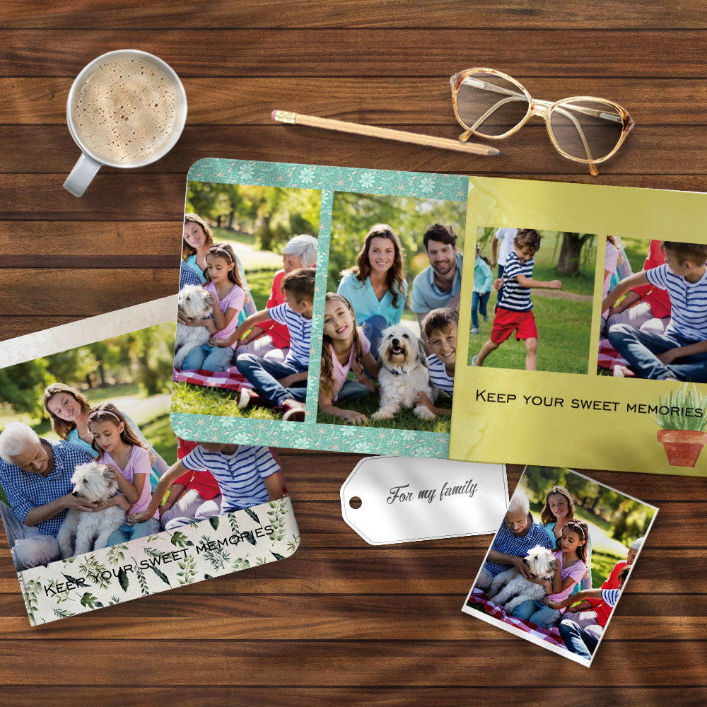Collage Book For Family Design Photo Albums Custom Book - 3 Size