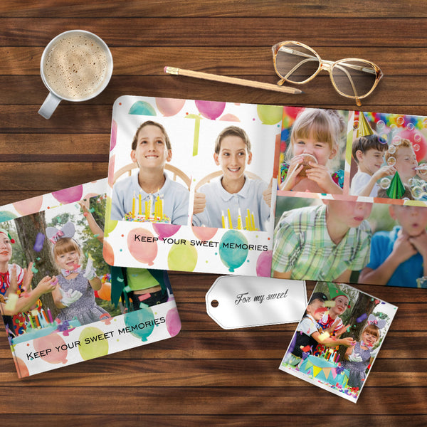 Birthday Gift Collage Book Design Photo Albums Book - 3 Size