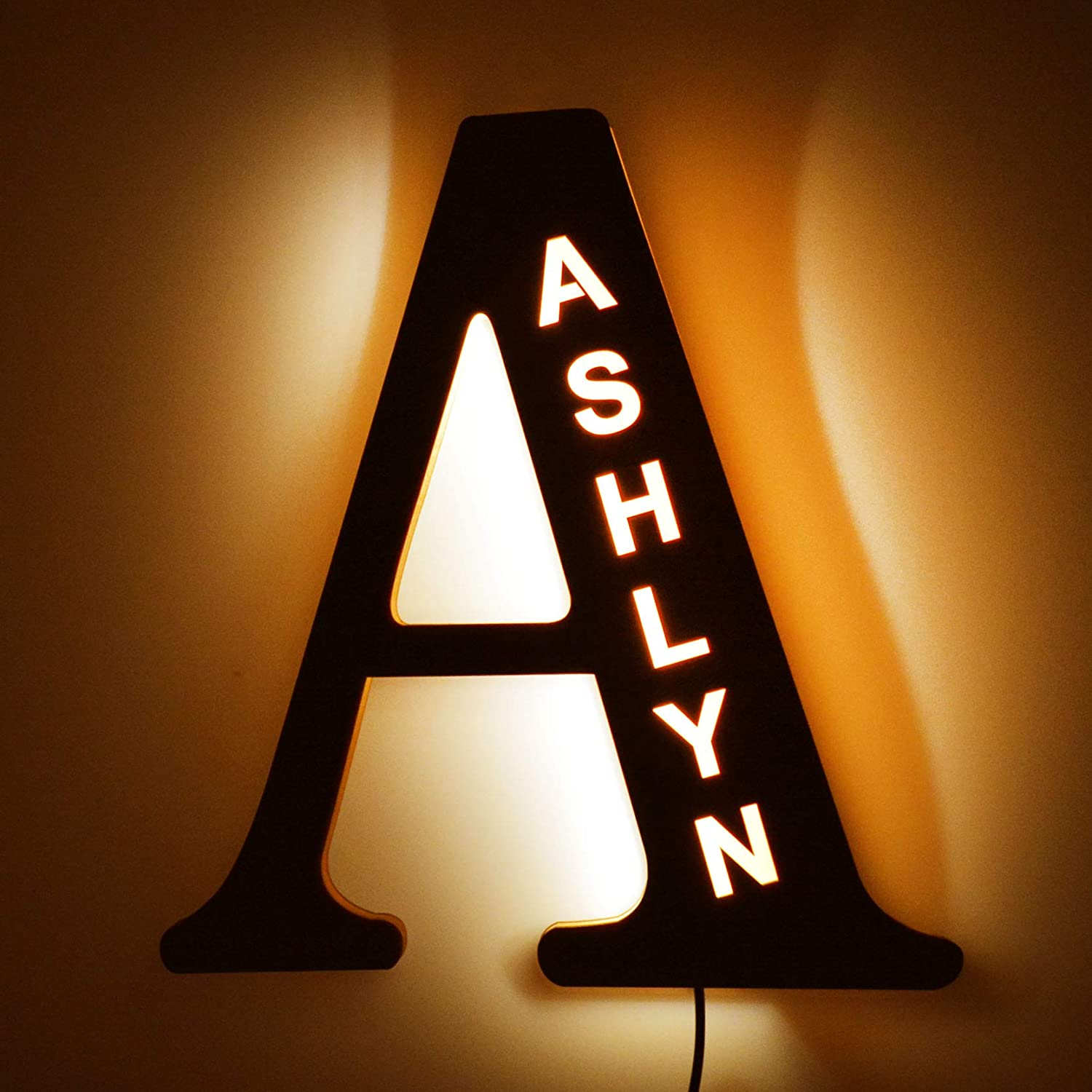 Personalized Decor LED Night Light Love Christmas Gifts