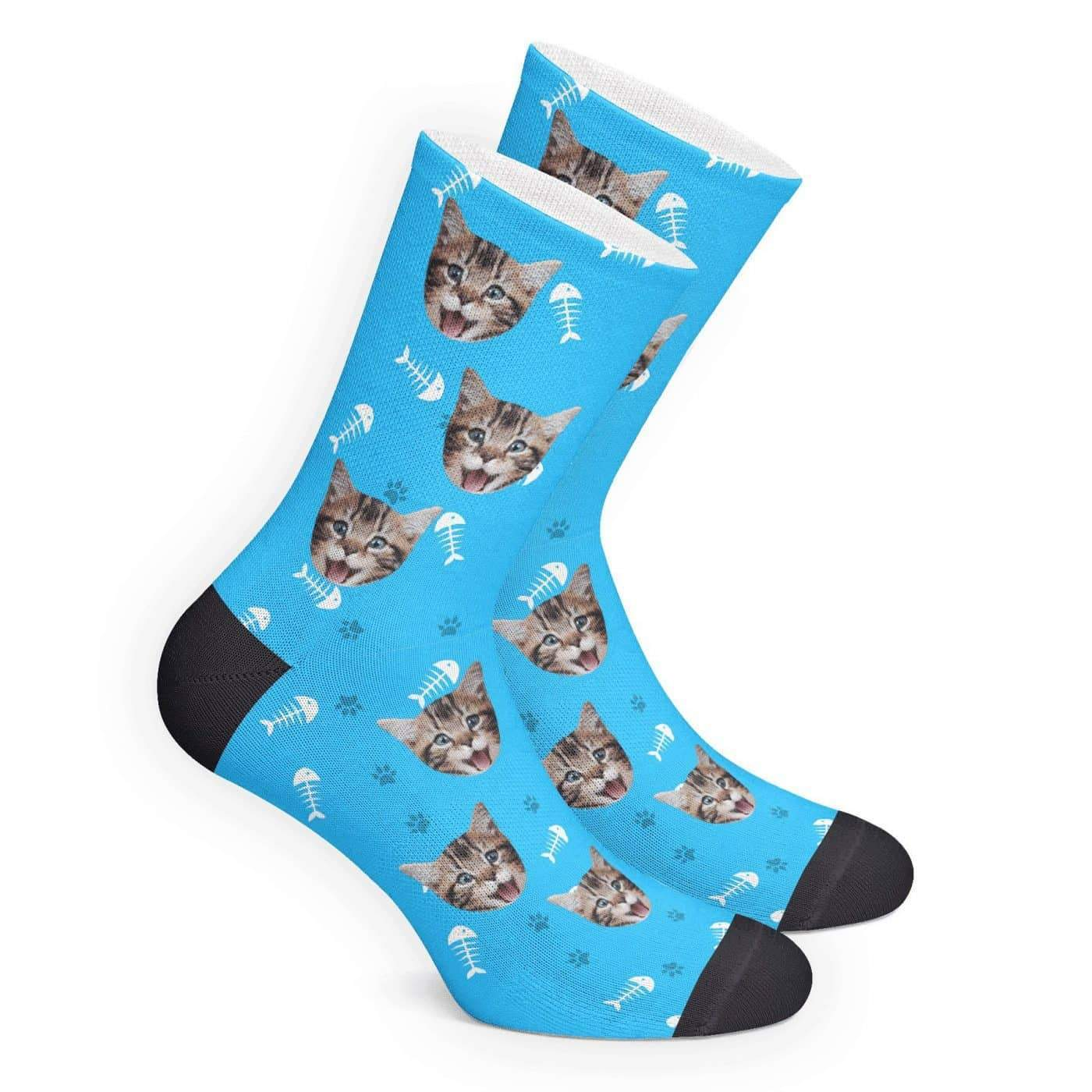 Custom Cat Socks - MyJigsawPuzzleAu