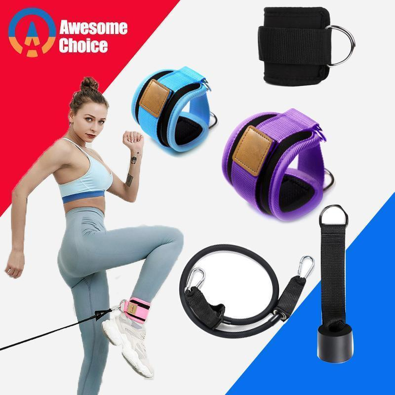 Resistance Bands with Ankle Straps