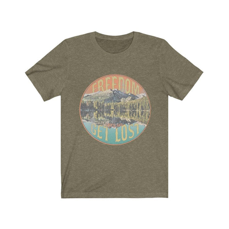 Freedom Lets Get Lost Vintage Tee