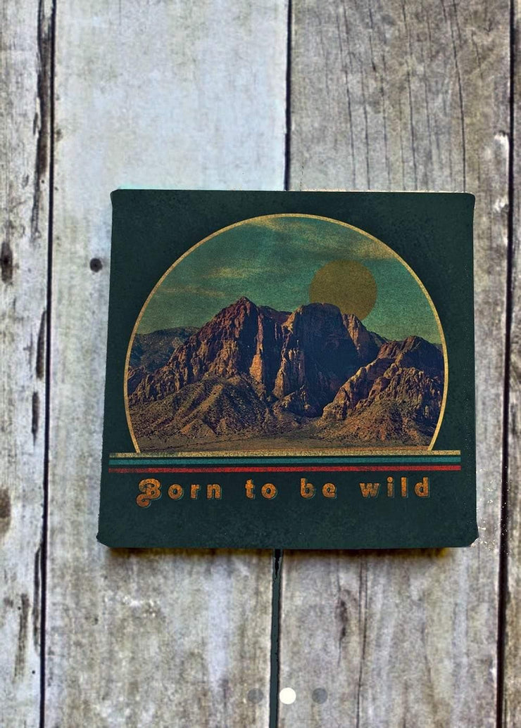 Born Wild Art Canvas 2
