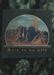 Born Wild Art Canvas featured