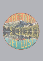 Get Lost Freedom Art Canvas - freedom art canvas 3