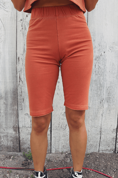 Macy Happiness Persimmon Shorts