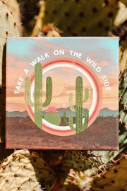 Walk on the Wild Side Art Canvas