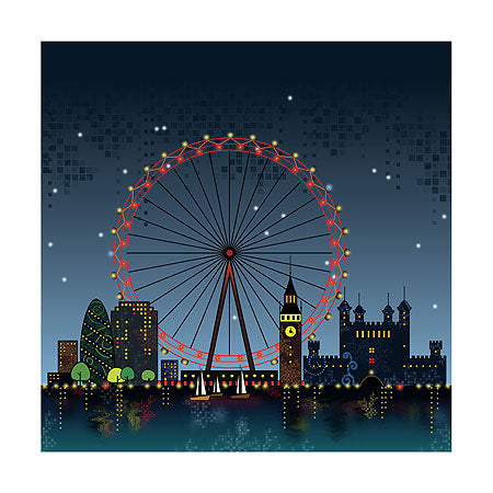 London Eye By Nikki Black