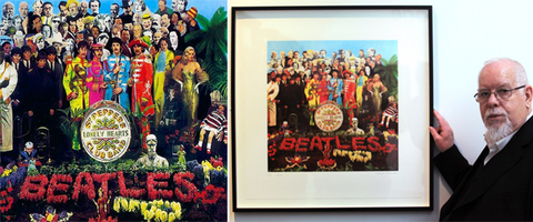 Peter Blake Sgt. Pepper The Beatles Cover