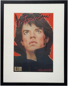 ArtSnap - After Andy Warhol - Interview Magazine (Mick Jagger Cover), February 1985