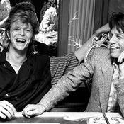 David Bowie & Mick Jagger London, 1987 (30 x 40 in)