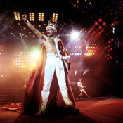 Freddie Mercury Wembley Stadium, 1986 (30 x 40 in)