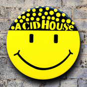Acid House (Hacienda) GIANT 3D Vintage Badge