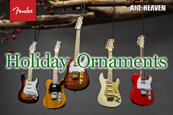 Mini Guitar Holiday Ornaments are Great Gifts!