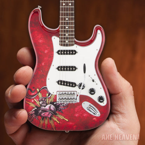 "Officially Licensed David Lozeau ""Sacred Heart"" Mini Fender™ Strat™ Guitar Model"