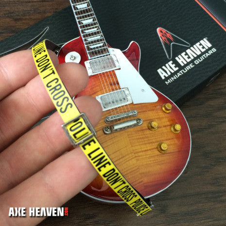AXE HEAVEN® POLICE LINE Mini Guitar Strap