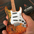 "Officially Licensed David Lozeau ""Tree of Life"" Mini Fender™ Strat™ Guitar Model"