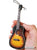 Sunburst Acoustic Guitar Holiday Ornament  6″ Mini Replica Collectible