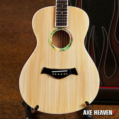 Traditional Spruce Top Acoustic Miniature Guitar Replica Collectible