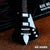 Classic Black Finish Iceman Miniature Guitar Replica Collectible
