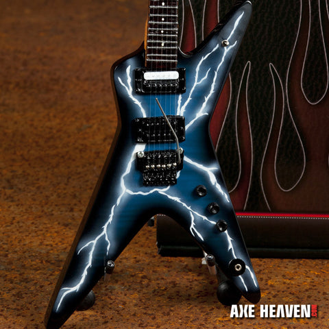Lightning Bolt Signature Series Miniature Guitar Replica Collectible