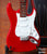 Fender™ Strat™ Red - Officially Licensed Miniature Guitar Replica