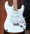 Fender™ Strat™ Olympic White - Officially Licensed Miniature Guitar Replica