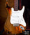 Aged Custom Shop Fender™ Strat™ Miniature Guitar Replica - Officially Licensed