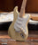 Cream Fender™ Strat™ Miniature Guitar Replica - Officially Licensed
