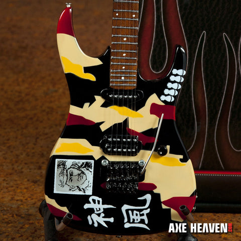 Officially Licensed George Lynch Kamikaze Miniature Guitar Replica Collectible