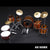 Vistalite Transparent Amber Tribute Zep Mini Drum Set Replica Collectible