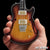 Officially Licensed Neal Schon Sunburst NS-15 PRS Mini Guitar Replica Model