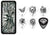 "James ""Papa Het"" Hetfield Signature Pick Tin w/ 6 Collector Picks"