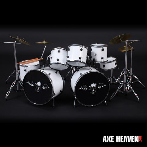 Jimmy The Rev Sullivan Avenged Sevenfold Mini Replica Drum Set