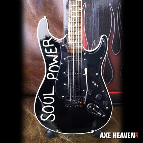 Tom Morello Signature SOUL POWER Miniature Guitar Replica Collectible