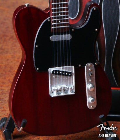 Fender™ Telecaster™ Miniature Guitar Replica - Rosewood Finish - Officially Licensed