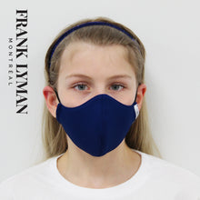 Load image into Gallery viewer, Unisex Kids Mask in Midnight Solid