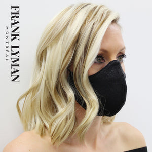 Unisex Adult Masks (Set of 2 in Shimmer Solid Color)