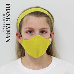 Unisex Kids Masks (Set of 2 in Citrus Solid)